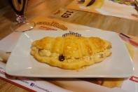 Frango com cream cheese e bacon