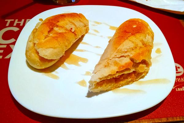 Mini Baguete de Brie e Mel