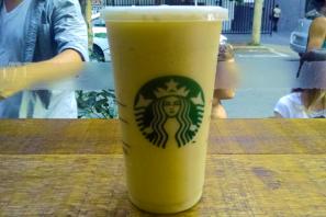 Frappuccino de Iogurte com Banana