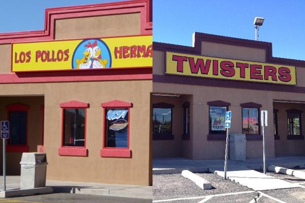 Los Pollos Hermanos e Twisters