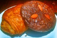 Pain et Chocolat e Cookie de chocolate belga com amêndoas